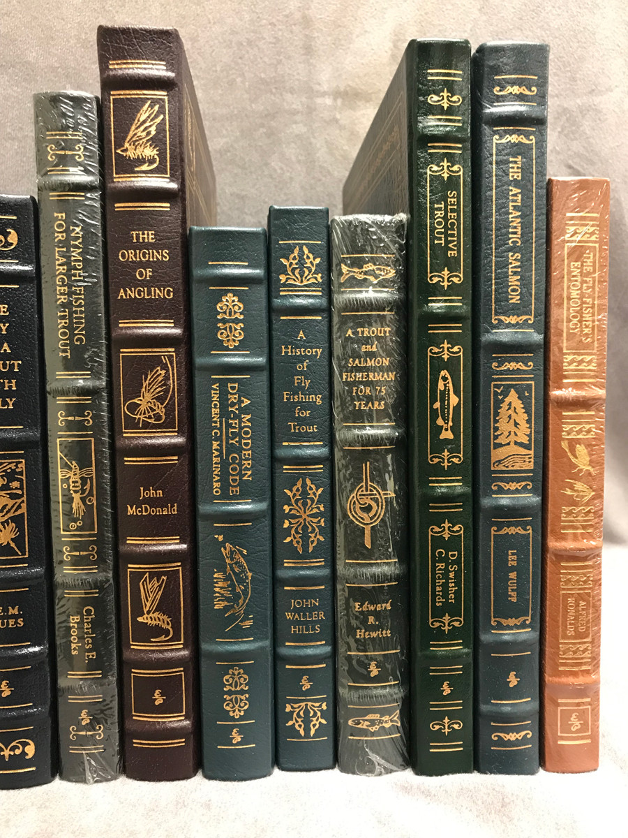 Image 5 of Easton Press Library of Fly-Fishing Classics ~ 30 volumes of 33 ~ Collector's Ed