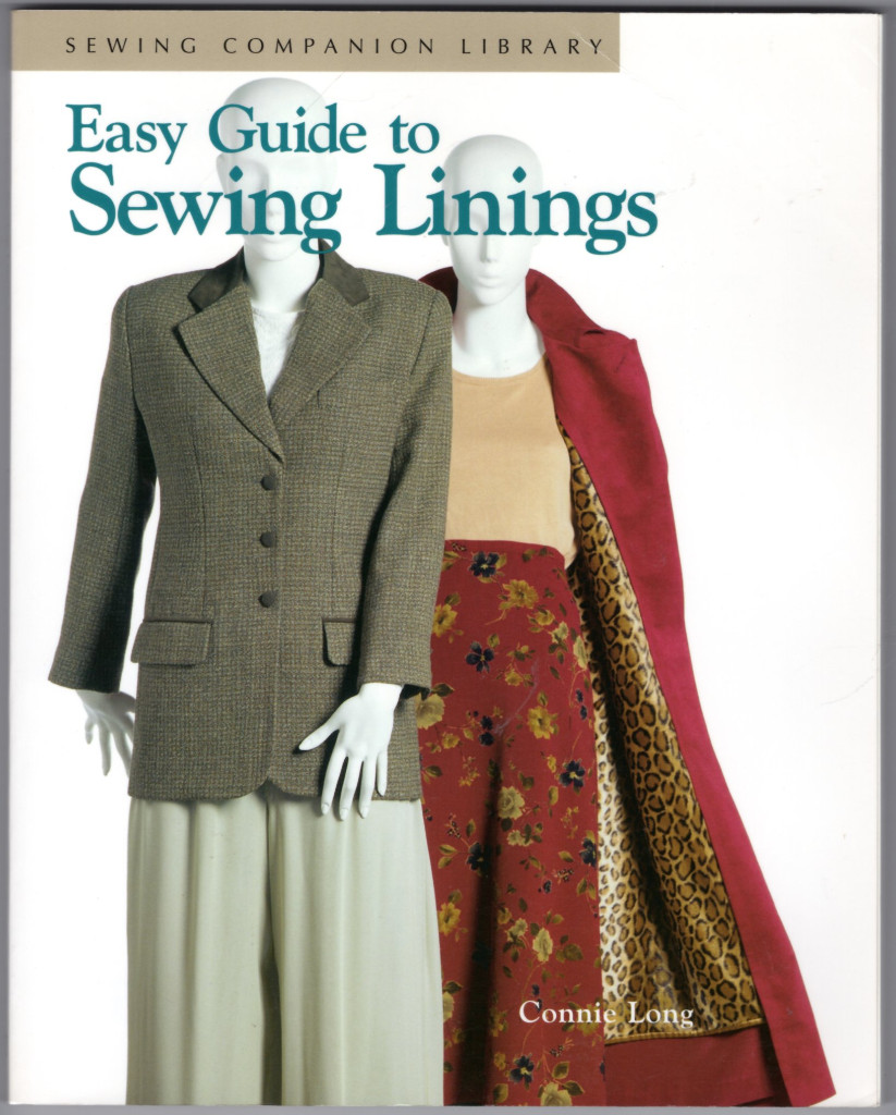 Image 0 of Easy Guide to Sewing Linings: Sewing Companion Library