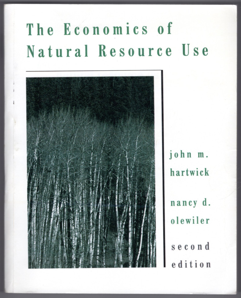 Image 0 of The Economics of Natural Resource Use (2nd Edition)
