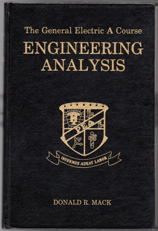 Image 0 of Engineering Analysis (The General Electric A Course)
