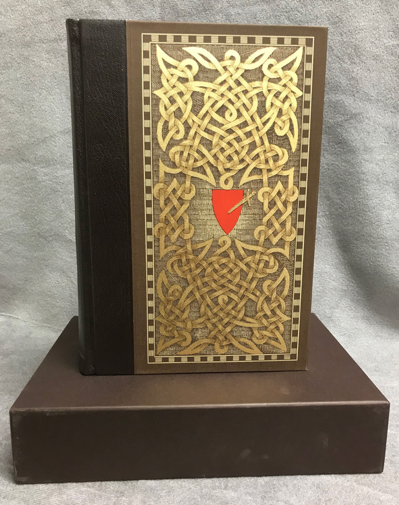 Image 1 of Epics of the Middle Ages (Folio Society, Quarter-Bound in Goatskin Leather)