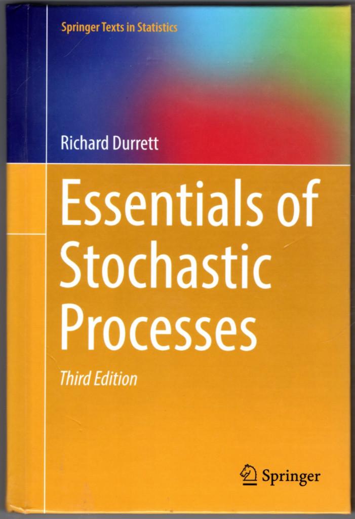 Image 0 of Essentials of Stochastic Processes (Springer Texts in Statistics)