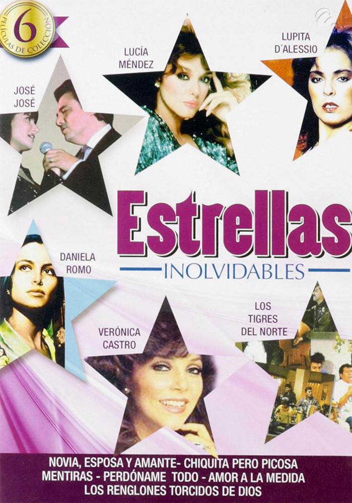 Image 0 of Estrellas Inolvidables (6 Peliculas De Coleccion)