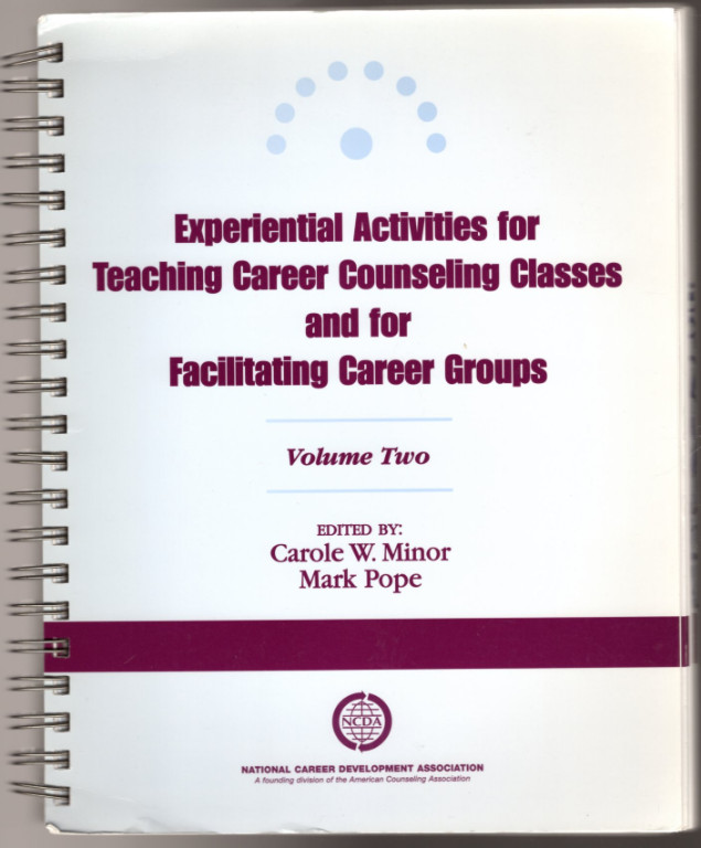 Image 0 of Experiential Activities for Teaching Career Counseling Classes and for Facilitat