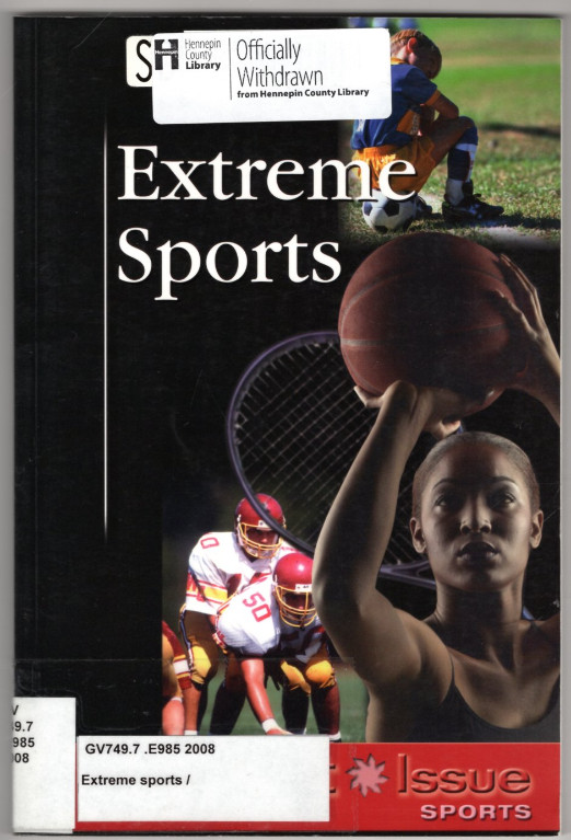 Image 0 of Extreme Sports (At Issue)