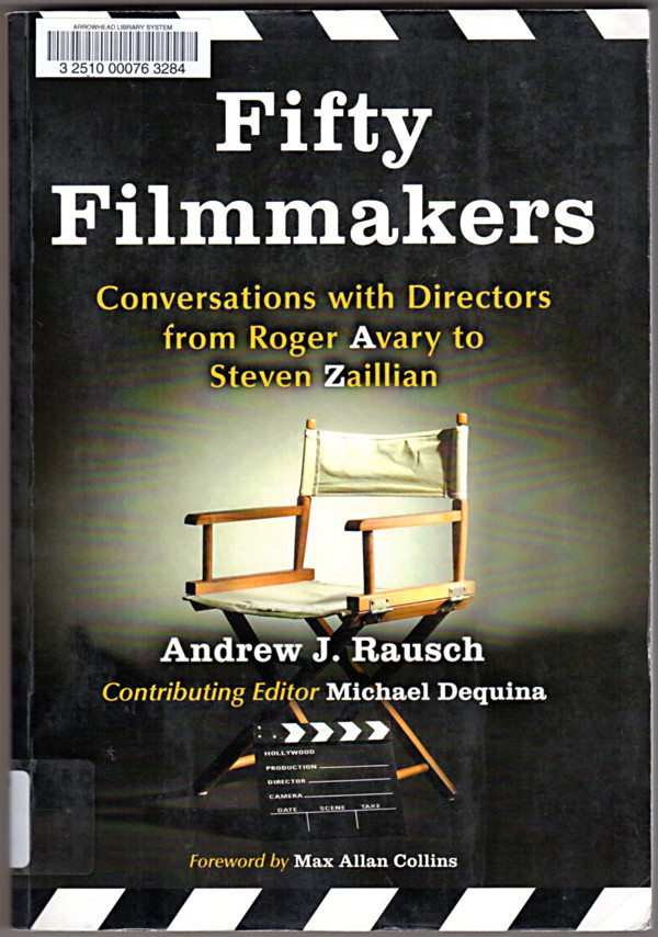 Image 0 of Fifty Filmmakers: Conversations With Directors from Roger Avary to Steven Zailli