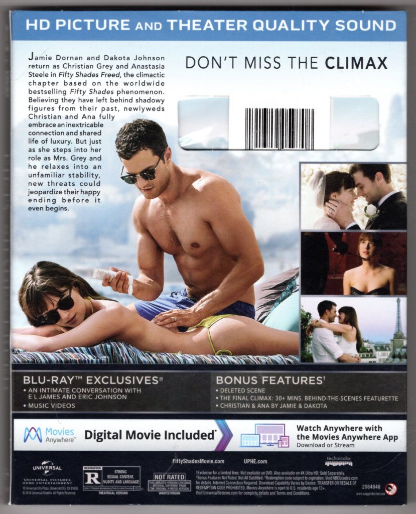 Image 1 of Fifty Shades Freed Target Exclusive