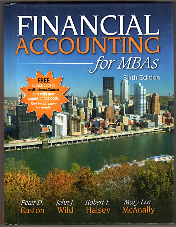 Image 0 of Financial Accounting for MBAs, 6th Edition