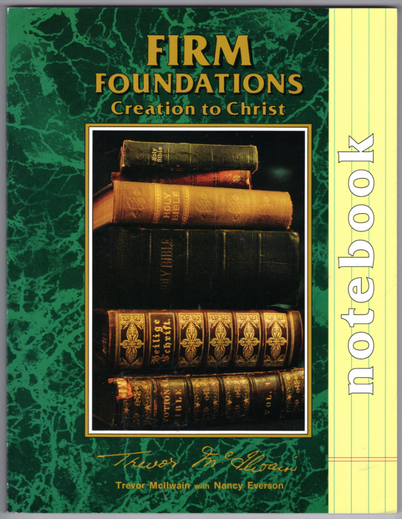 Image 0 of Firm Foundations Creation to Christ Notebook