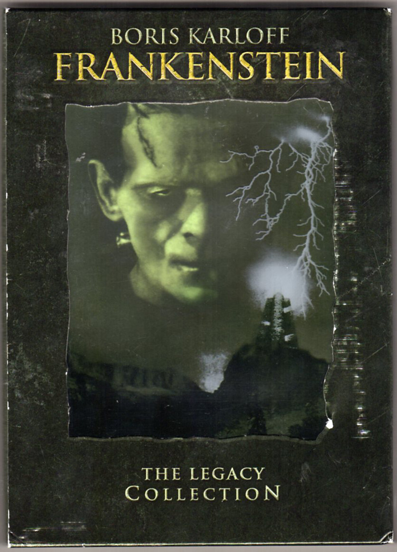 Image 0 of Frankenstein: The Legacy Collection (Frankenstein / The Bride of Frankenstein /