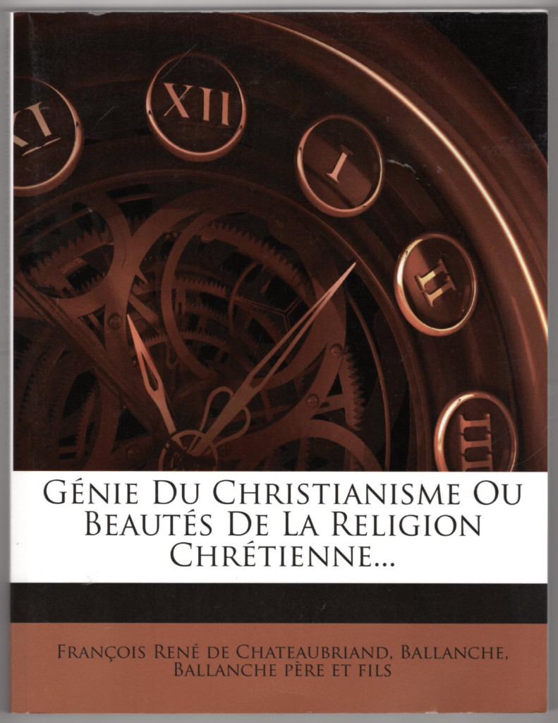 Image 0 of Genie Du Christianisme Ou Beautes de La Religion Chretienne... (French Edition)