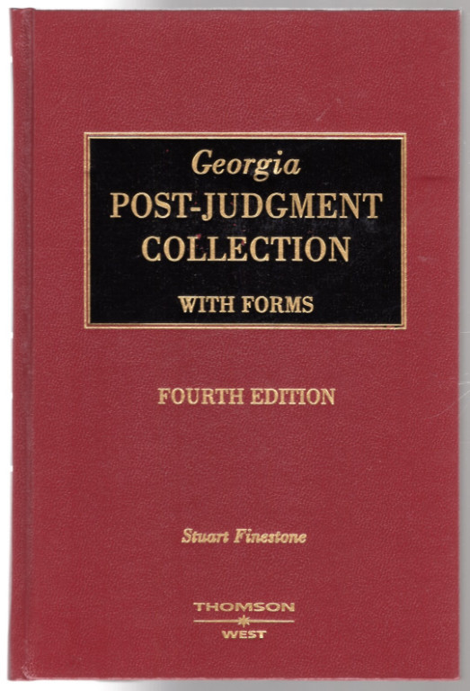 Image 0 of Georgia Post-Judgment Collection with Forms, Fourth edition