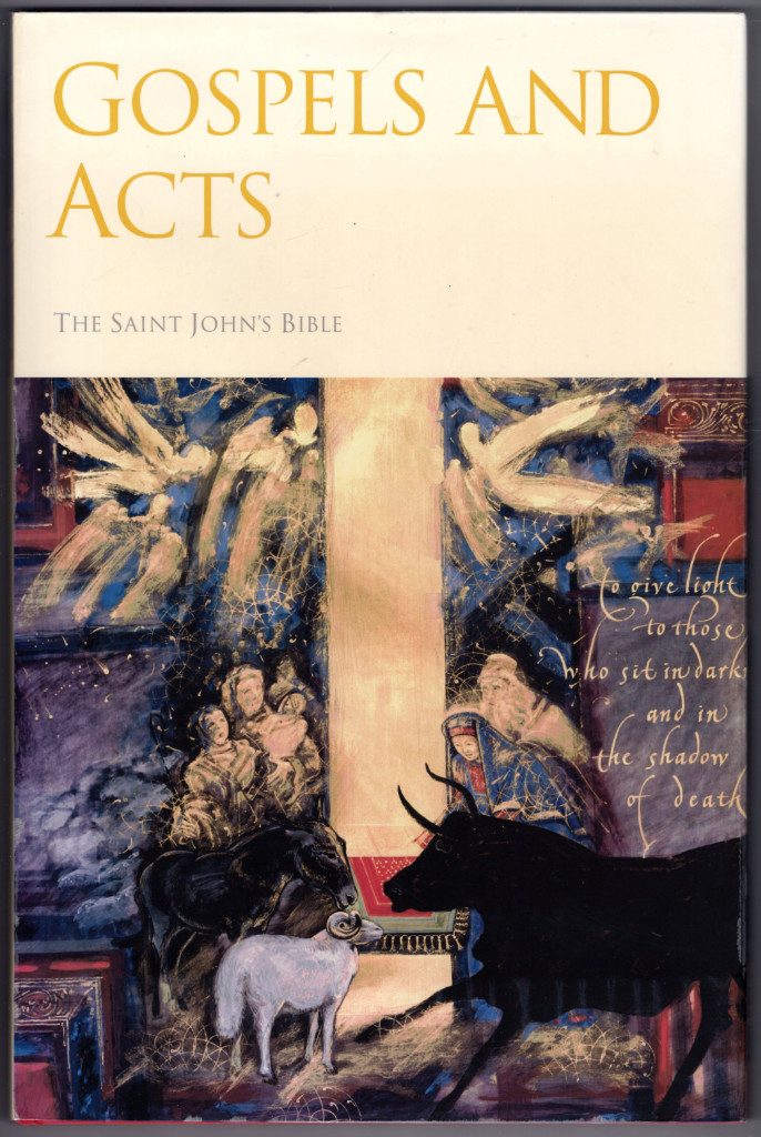 Image 0 of Saint John's Bible: Gospels and Acts