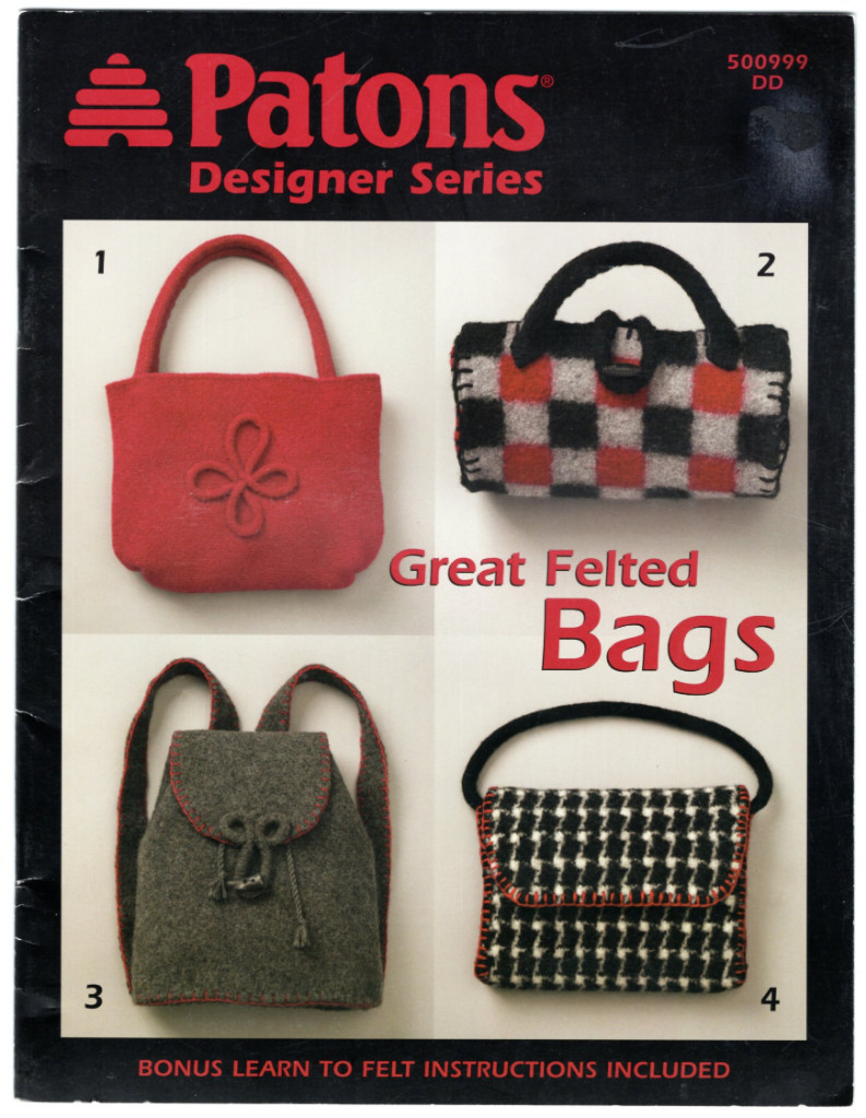 Image 0 of Great Felted Bags (Patons Designer Series #500999)