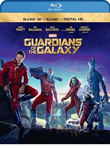 Image 0 of Guardians of the Galaxy (3D Blu-ray + Blu-ray + Digital Copy) by Walt Disney Stu