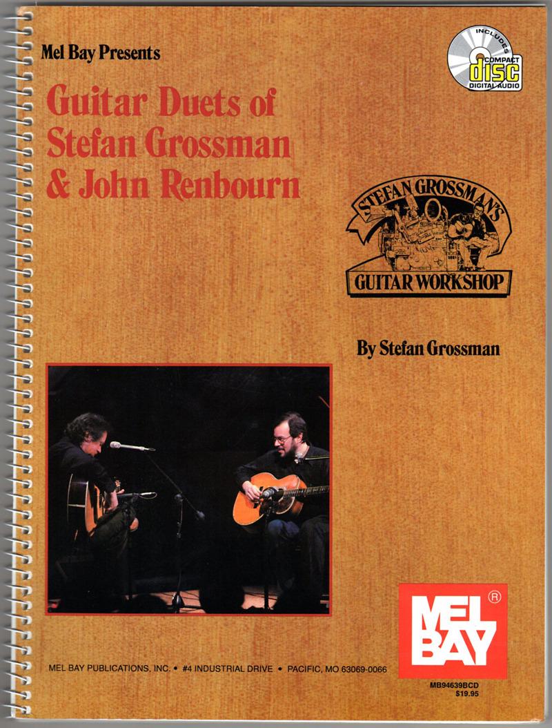 Image 0 of Guitar Duets of Stefan Grossman & John Renbourn w/CD