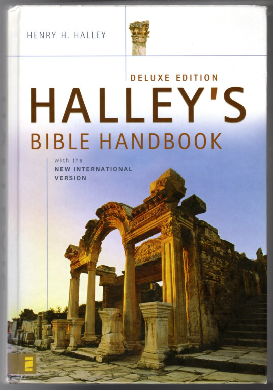 Image 0 of Halley's Bible Handbook with the New International Version---Deluxe Edition