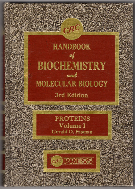 Image 0 of Handbook of Biochemistry: Section A Proteins, Volume I