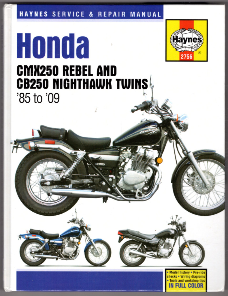 Image 0 of Honda CMX250 Rebel & CB250 Nighthawk Twins, 1985-2009 (Haynes Repair Manual)
