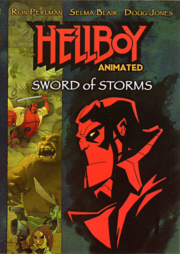 Image 0 of Hellboy Animated - Sword of Storms : Widescreen Edition
