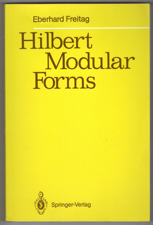 Image 0 of Hilbert Modular Forms