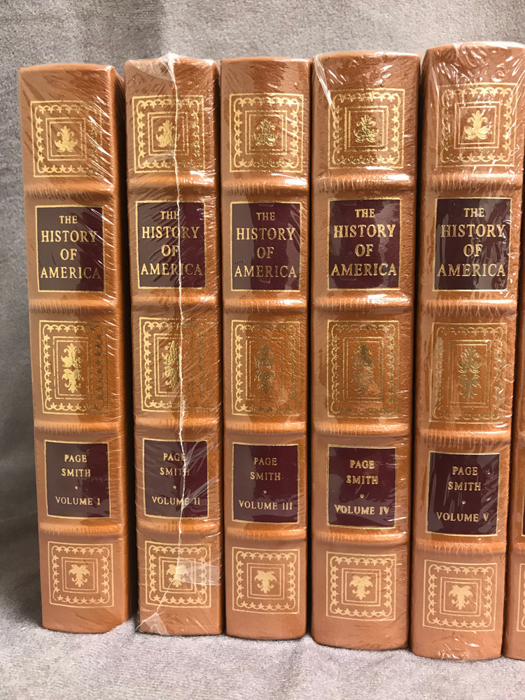 Image 3 of The History of America (16 Volume Set / Easton Press)