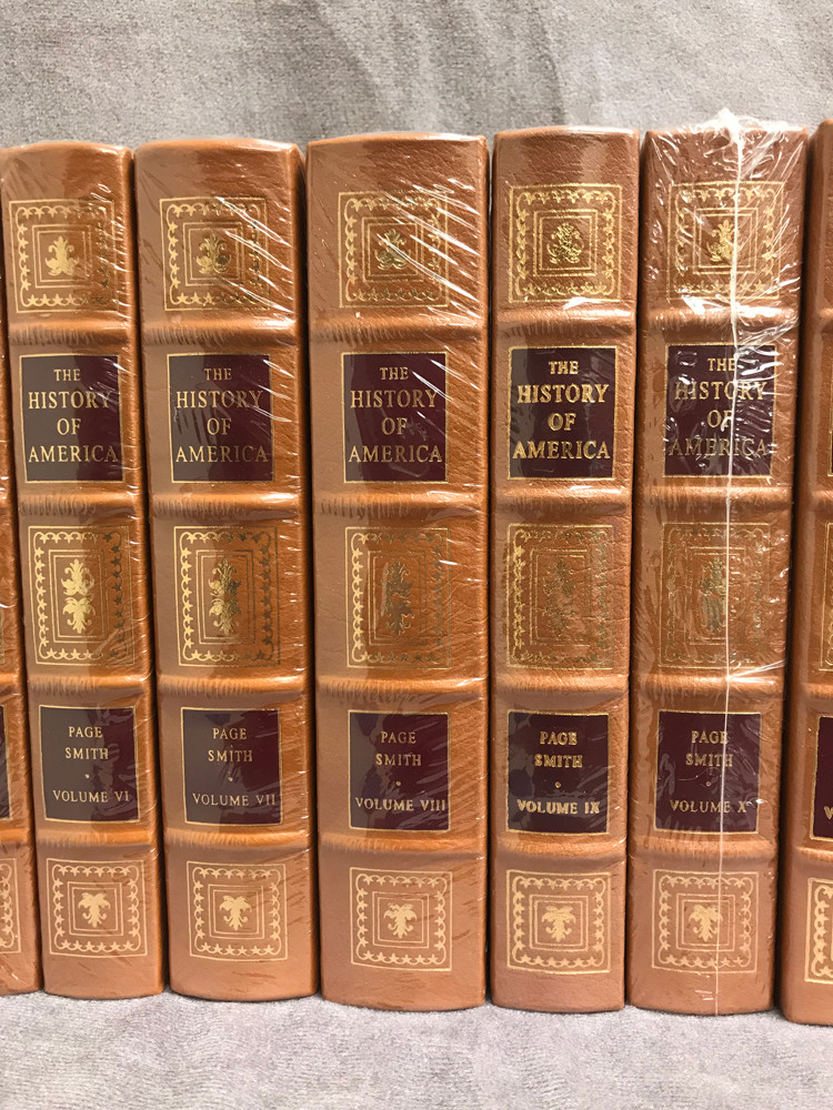 Image 4 of The History of America (16 Volume Set / Easton Press)