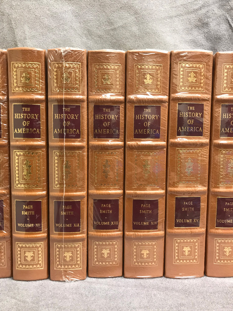 Image 5 of The History of America (16 Volume Set / Easton Press)