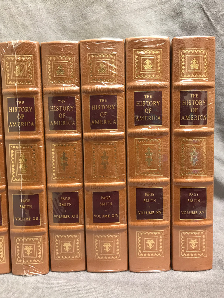 Image 6 of The History of America (16 Volume Set / Easton Press)