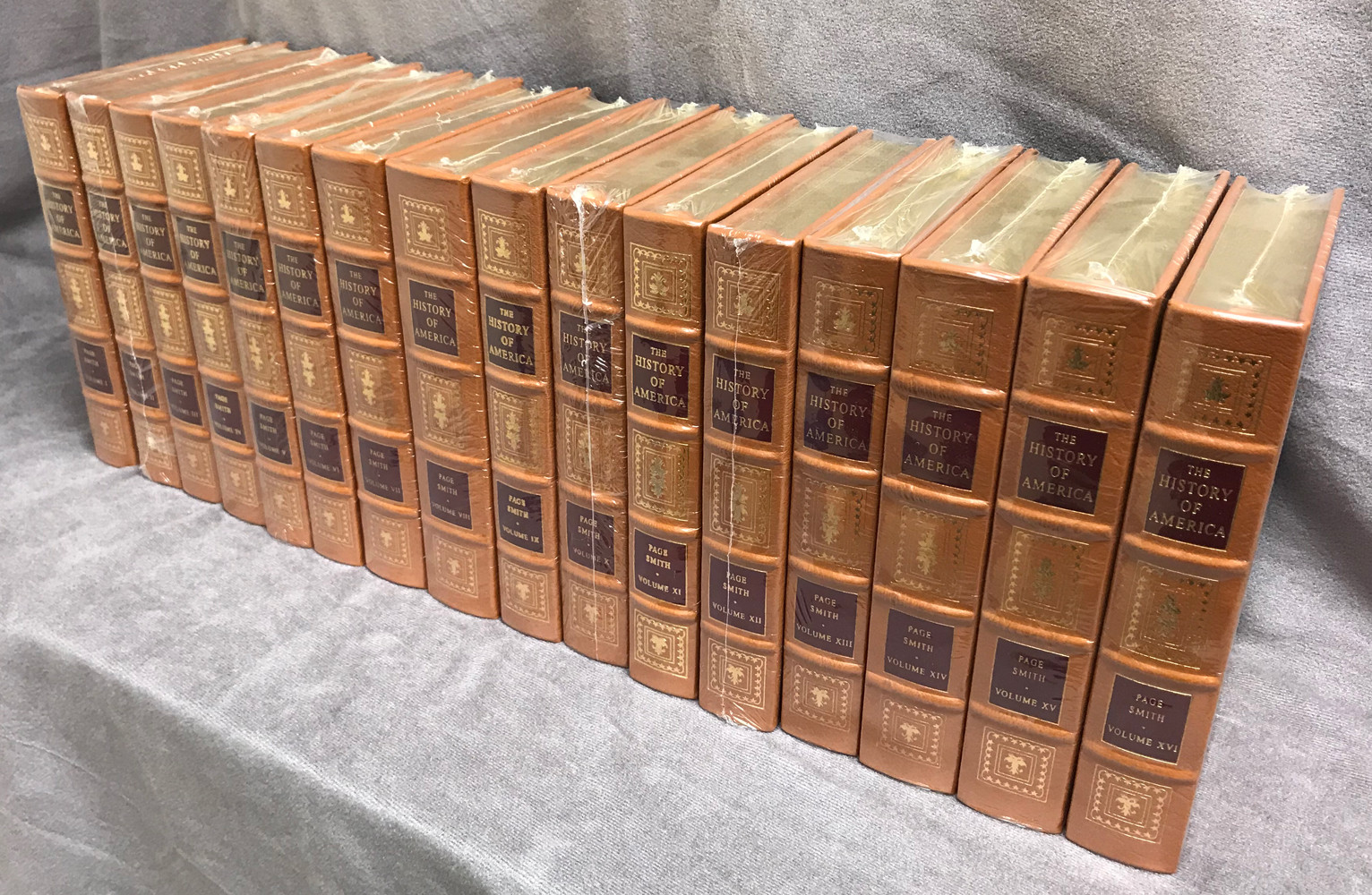 Image 0 of The History of America (16 Volume Set / Easton Press)