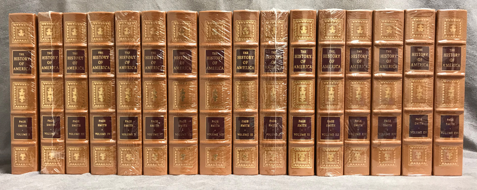 Image 1 of The History of America (16 Volume Set / Easton Press)