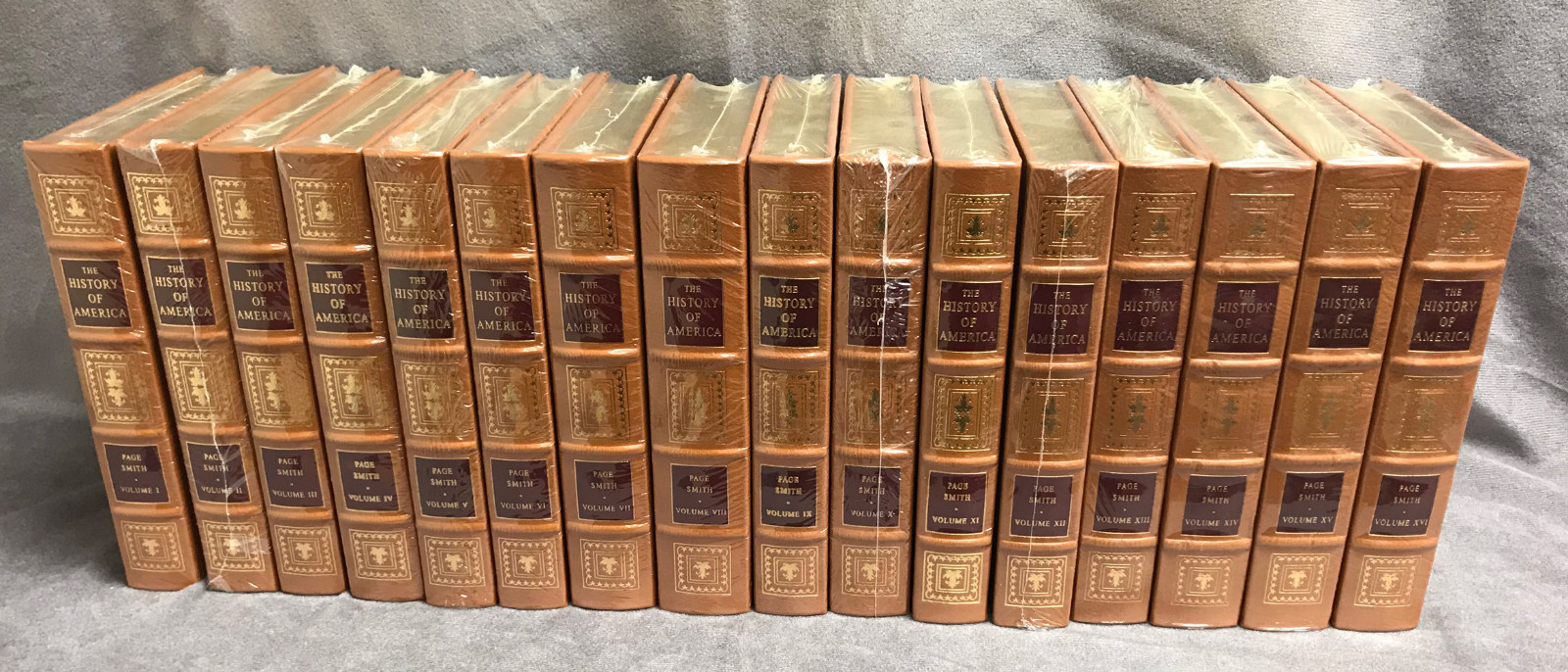Image 2 of The History of America (16 Volume Set / Easton Press)