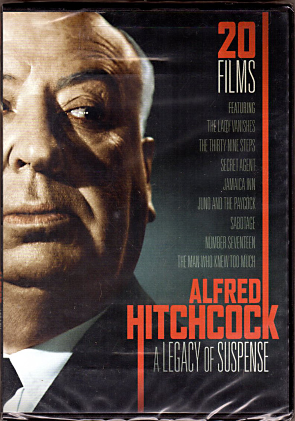 Image 0 of ALFRED HITCHCOCK A Legacy of Suspense 20 FILMS DVD 4-Disc Set
