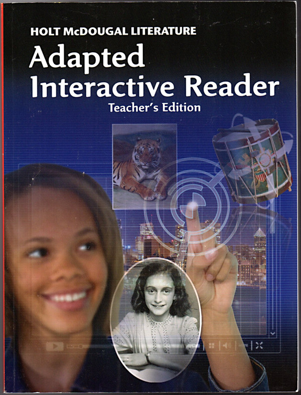 Image 0 of Holt McDougal Literature: Adapted Interactive Reader Teacher's Edition Grade 8