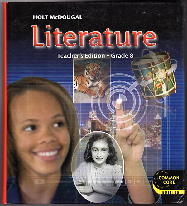 Image 0 of Holt McDougal Literature: Teacher's Edition Grade 8 2012