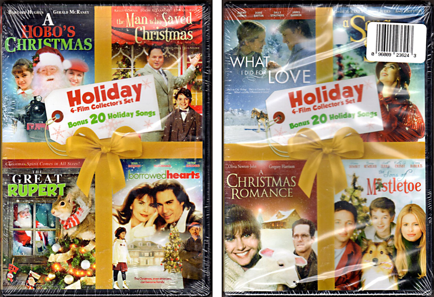 Image 0 of 8 Film Holiday Collector's Set DVD + Bonus 40 Holiday Songs