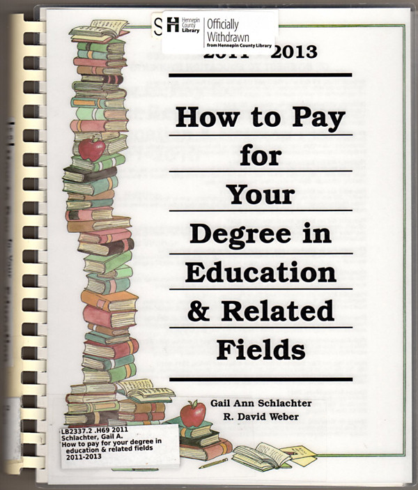 Image 0 of How to Pay for Your Degree in Education & Related Fields 2011-2013