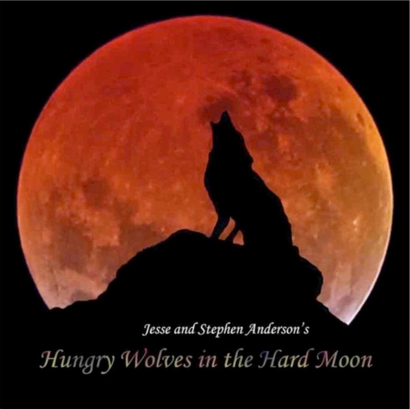 Image 0 of Hungry Wolves in the Hard Moon