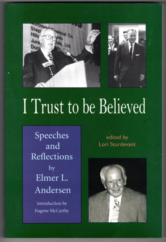 Image 0 of I Trust To Be Believed: Speeches And Reflections