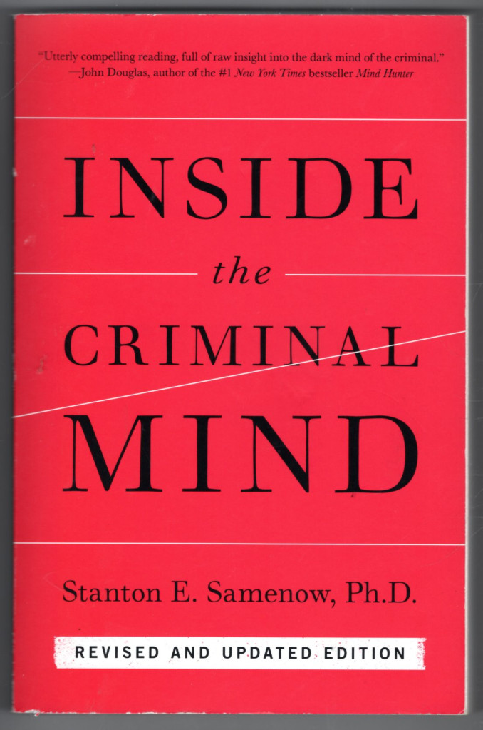 Image 0 of Inside the Criminal Mind: Revised and Updated Edition