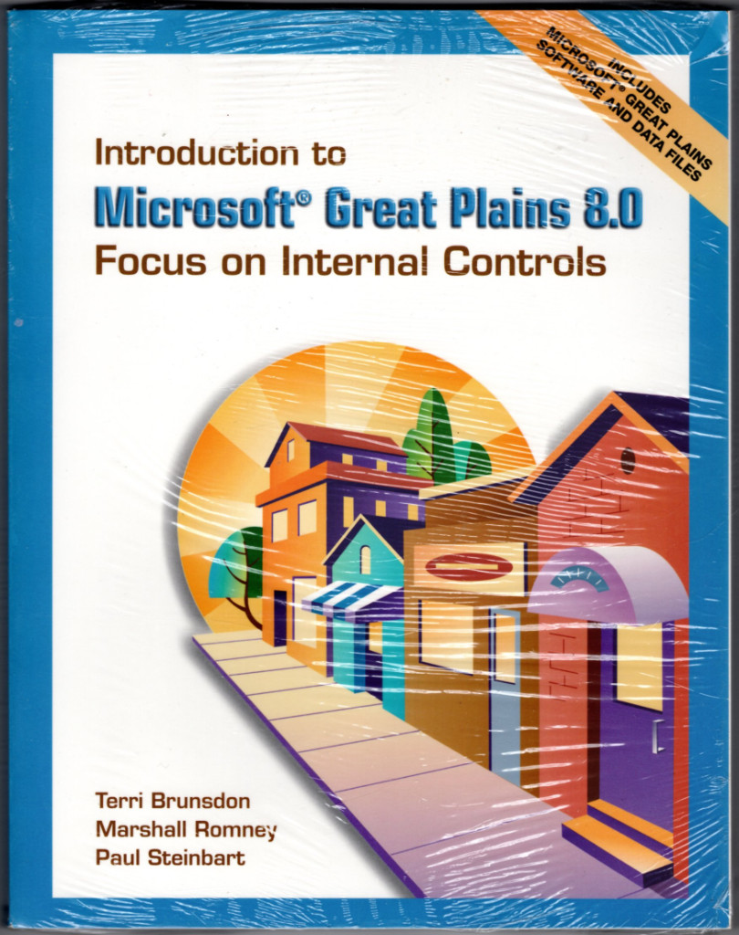 Image 0 of Introduction to Microsoft Great Plains 8.0: Focus on Internal  Controls & Softwa