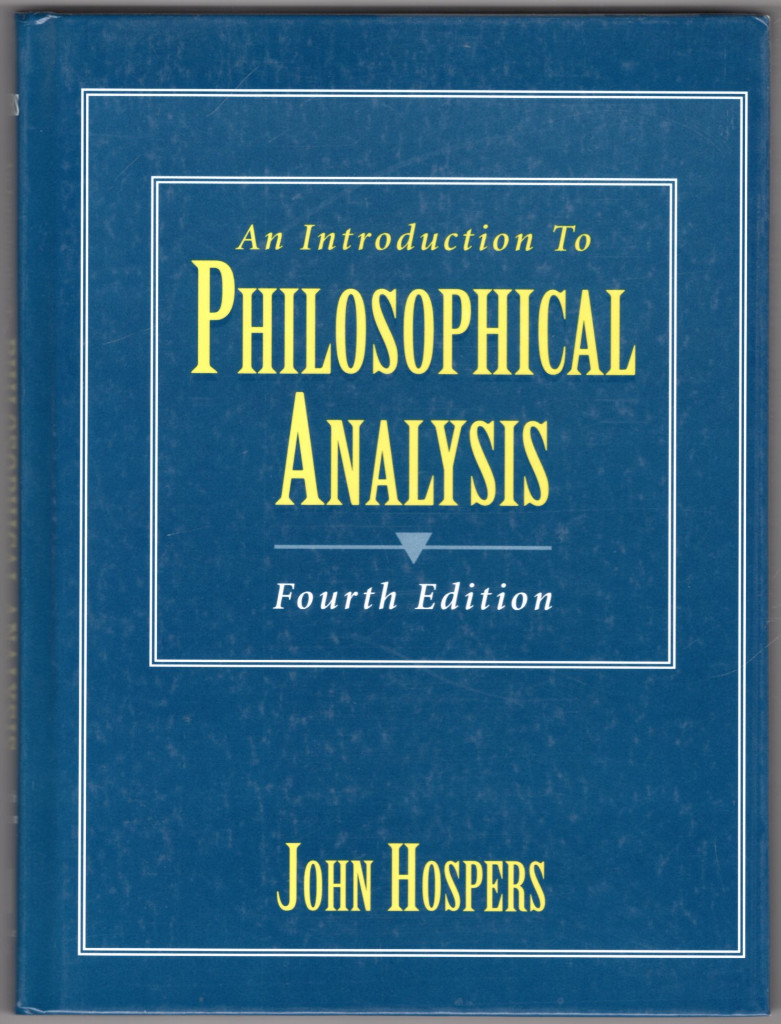 Image 0 of An Introduction to Philosophical Analysis (4th Edition)