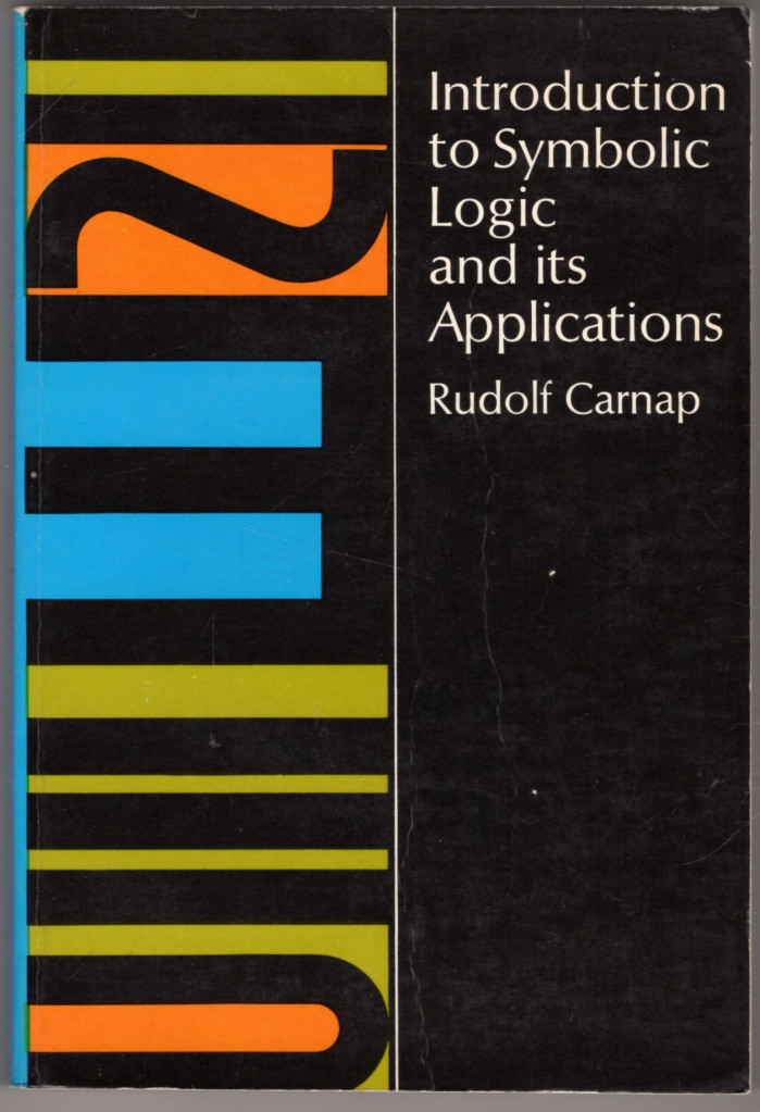Image 0 of Introduction to Symbolic Logic and Its Applications