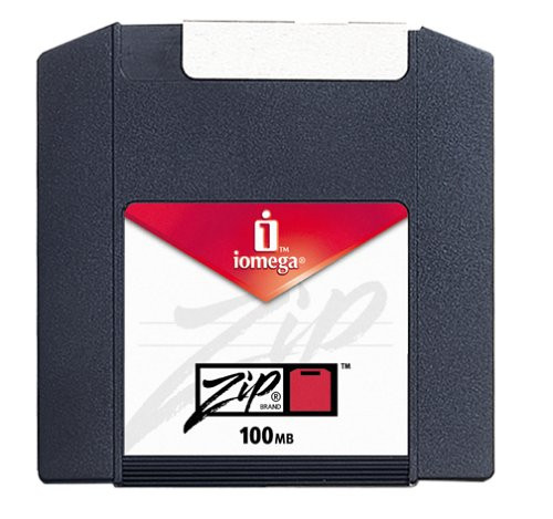 Image 2 of Iomega PC Formatted Zip Disks 100 MB (10-Pack) (reformattable for use on a Mac)