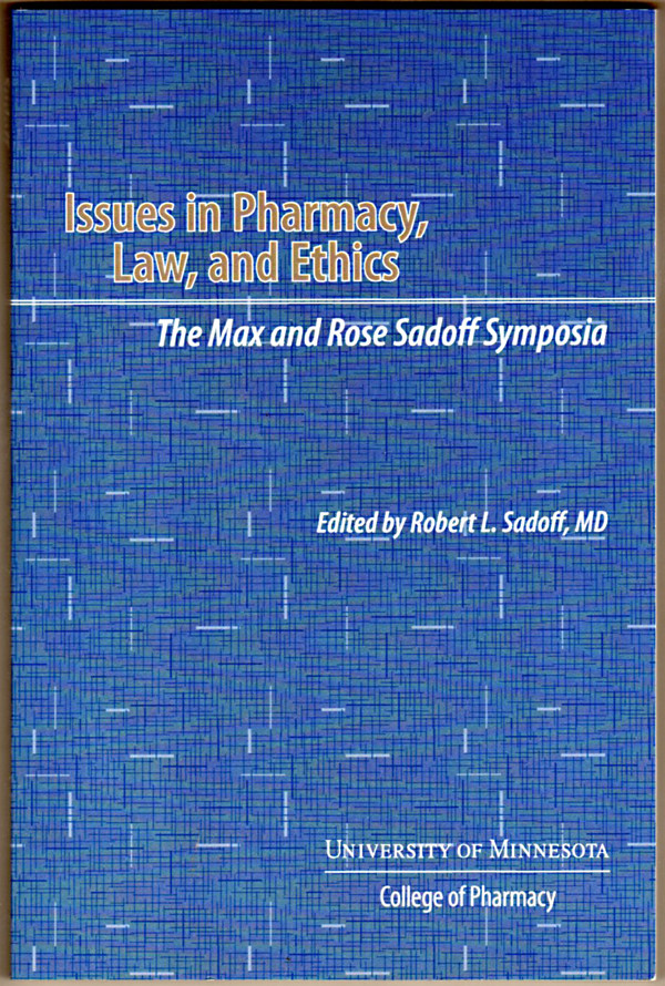 Image 0 of Issues in Pharmacy, Law and Ethics