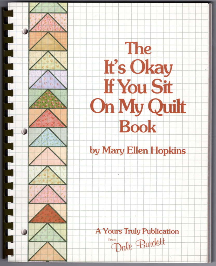 Image 0 of The It's Okay If You Sit on My Quilt Book
