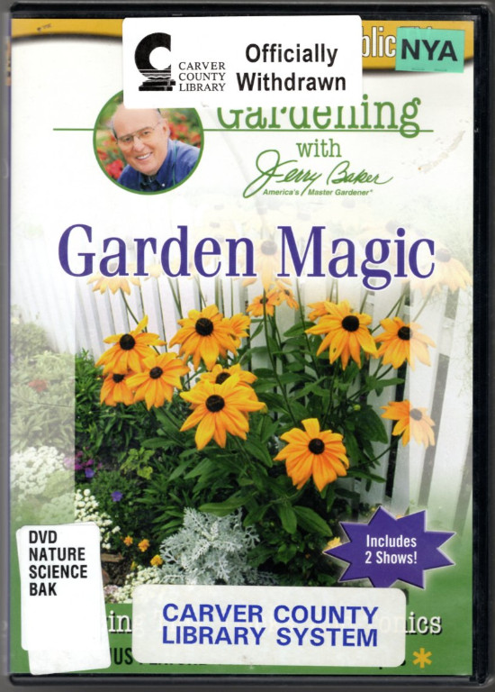 Image 0 of Jerry Baker: Gardening Magic 1 & 2