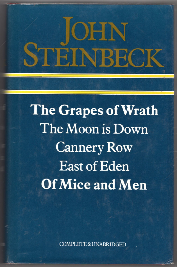 Image 0 of The Grapes of Wrath / The Moon Is Down / Cannery Row / East of Eden / Of Mice an