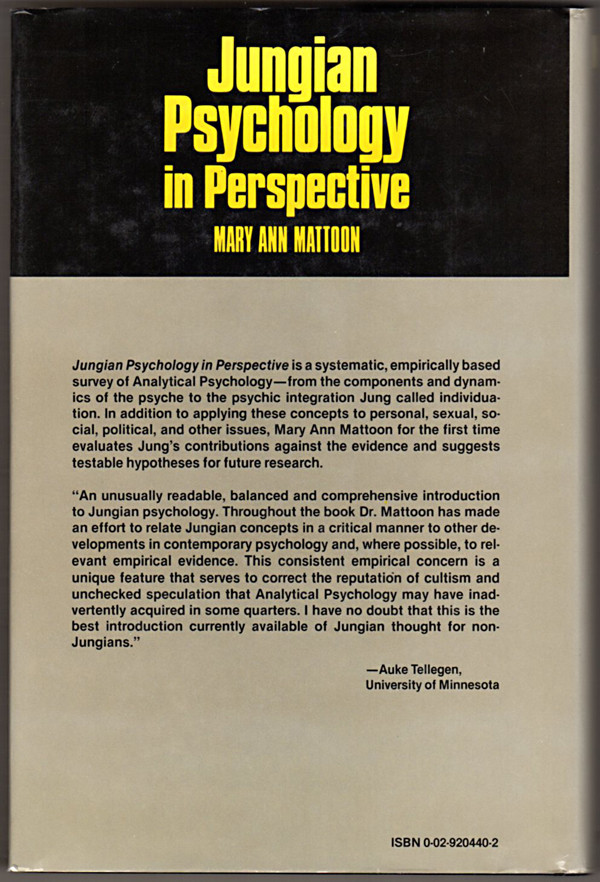 Image 1 of Jungian Psychology in Perspective