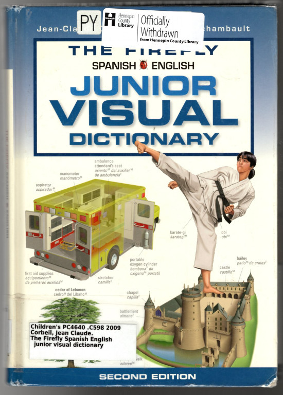 Image 0 of The Firefly Spanish/English Junior Visual Dictionary